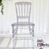Chaise Napoleon Cristal - 1001 Events - Fournisseurs accessoires mariage evenement - 00001