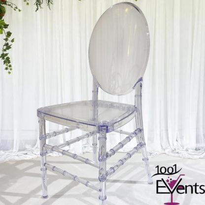 Chaise medaillon cristal - 1001 Events - Fournisseur Accessoires Evenements Mariage00002