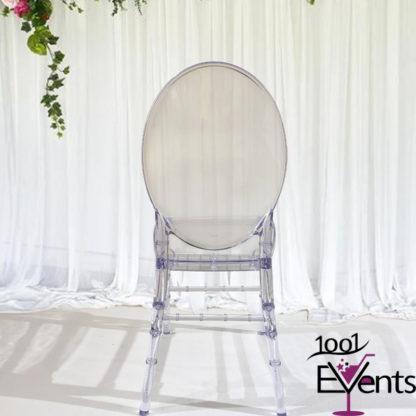 Chaise medaillon cristal - 1001 Events - Fournisseur Accessoires Evenements Mariage00003