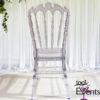 Chaise royal cristal - 1001 Events - Fournisseur Accessoires Evenements Mariage00001