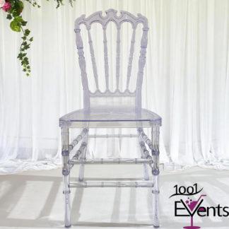 Chaise royal cristal - 1001 Events - Fournisseur Accessoires Evenements Mariage00002