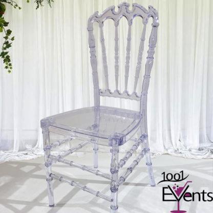 Chaise royal cristal - 1001 Events - Fournisseur Accessoires Evenements Mariage00003