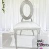 Chaise Deluxe Anneaux argent silver - 1001 Events - Fournisseur Accessoires Evenements Mariage00001
