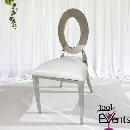 Chaise Deluxe Anneaux argent silver - 1001 Events - Fournisseur Accessoires Evenements Mariage00002