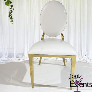 Chaise Deluxe medaillon or gold - 1001 Events - Fournisseur Accessoires Evenements Mariage00002