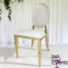 Chaise Deluxe medaillon or gold - 1001 Events - Fournisseur Accessoires Evenements Mariage00003