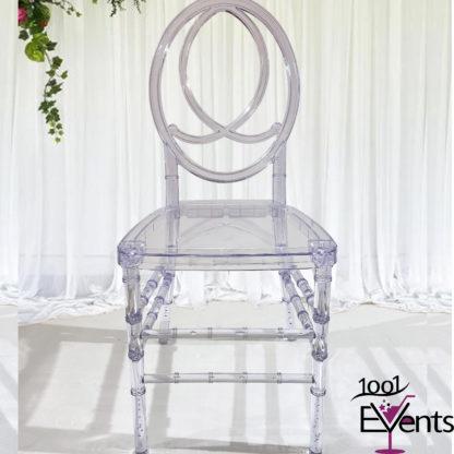 Chaise Phoenix Cristal - 1001 Events - Fournisseur Accessoires Evenements Mariage00001